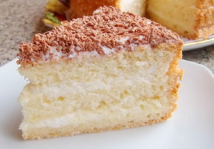 торт со сметанным кремом рецепт с фото