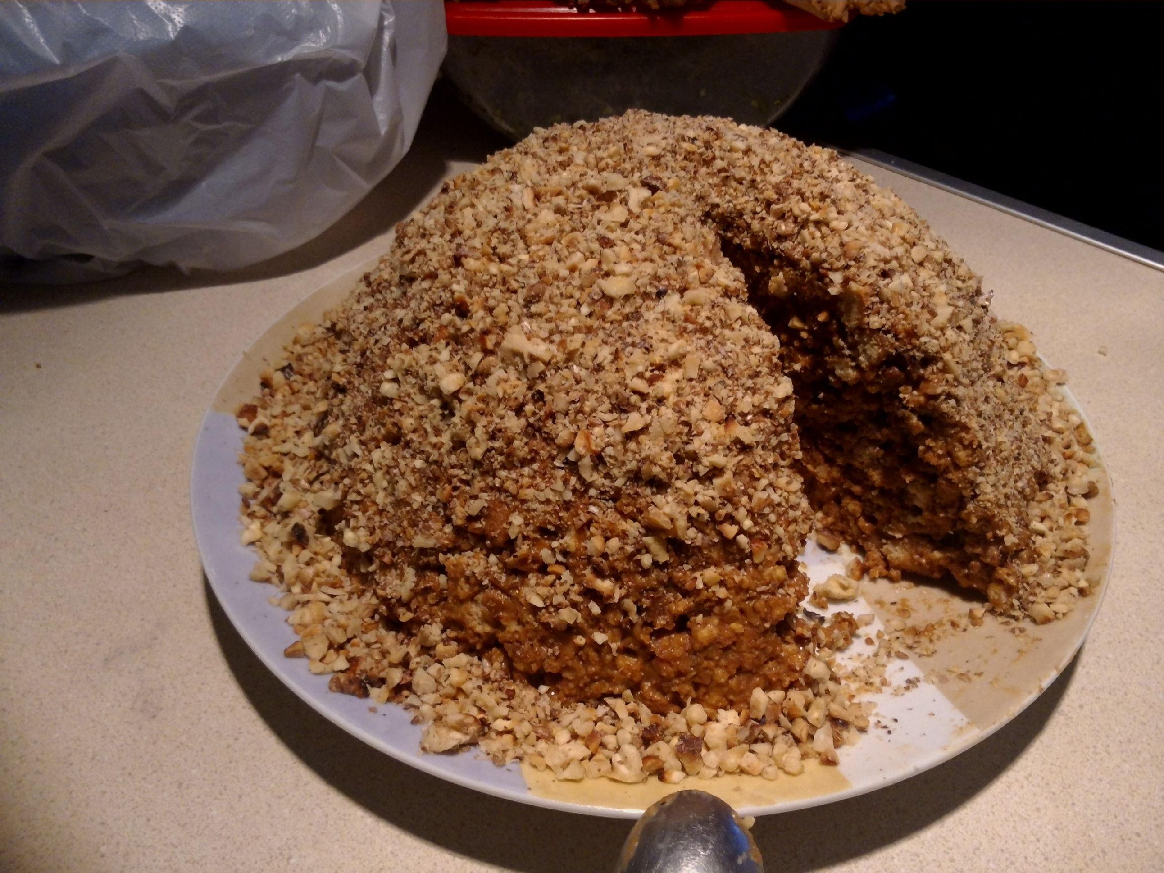 Пошаговый рецепт торта муравейник из печенья
