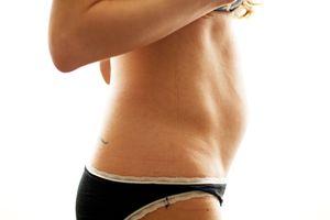 1 месяц беременности живот