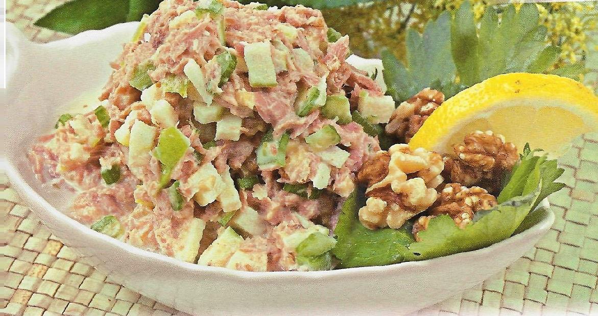 диетический салат с тунцом консервированным рецепт с пошаговым фото
