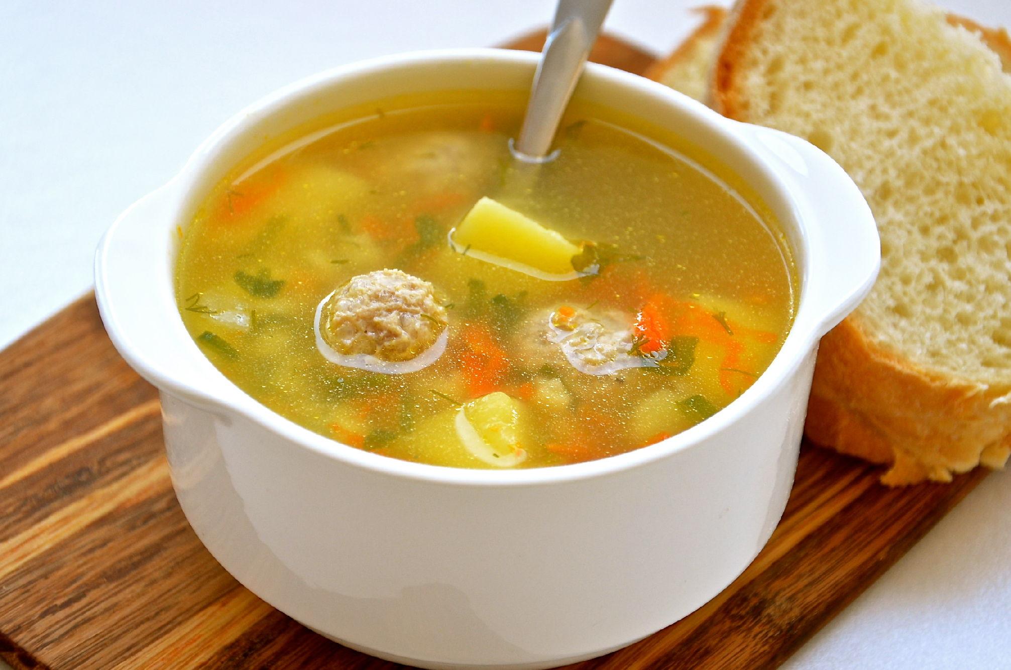 суп с клёцками со свининой пошаговый рецепт с фото