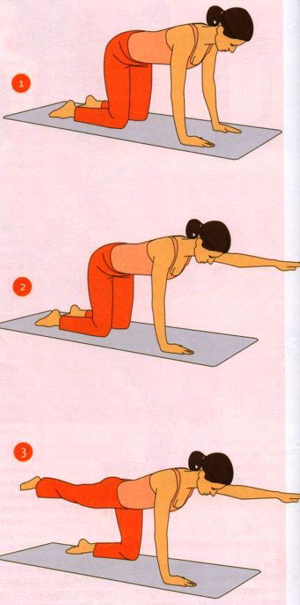 Гимнастика для беременных от болей в спине