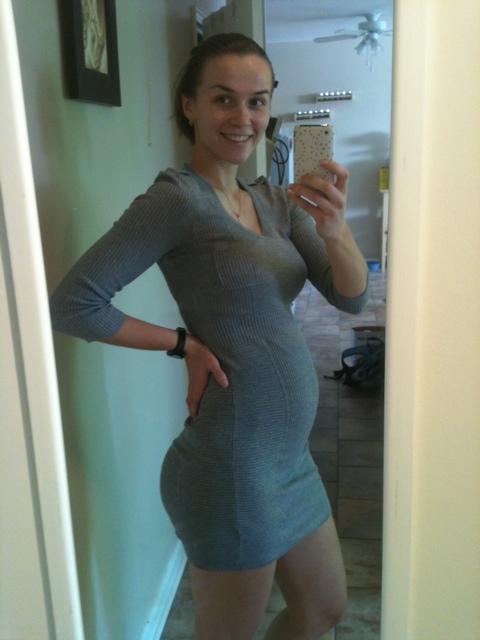 Живот на 17 неделе беременности у худых фото